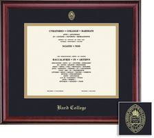 college diploma frame diploma frames bard college bookstore