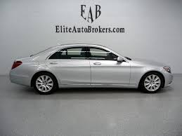 mercedes used s class 2015 used mercedes s class s550 4matic at elite auto brokers