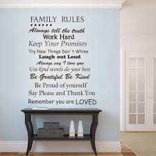 aliexpress com buy family rules remember you are loved family