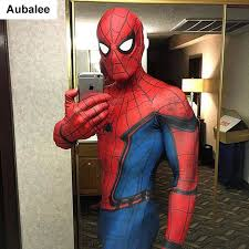 cool costumes spider homecoming costume