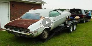 dodge challenger project project 1971 dodge challenger how do you come from rusted