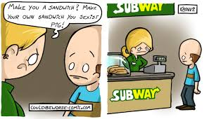 Subway Sandwich Meme - make me a sandwich make me a sandwich know your meme