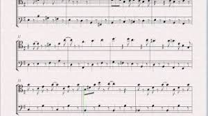 sheet music super mario bros 2 overworld theme