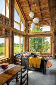 Rustic Barn Homes Carriage Barn Converted Into Breathtaking Guesthouse In Vermont