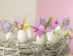 easter arrangements centerpieces 20 egg shell candles centerpieces and table decorations eco