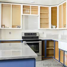 painting my oak kitchen cabinets white how to paint unfinished cabinets budget kitchen remodel