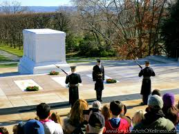 The changing of the guards at arlington national cemetery random