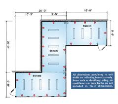 modular floor plan examples speed space div commercial product catalog
