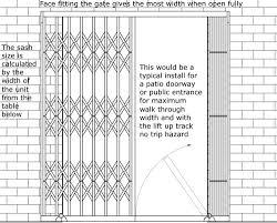 Patio Door Security Shutters Security Grilles Retractable Security Window Door Grilles