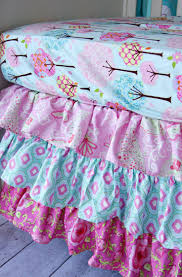 Mini Crib Sheet Tutorial by Best 25 Crib Bed Skirt Ideas On Pinterest Crib Skirt Tutorial