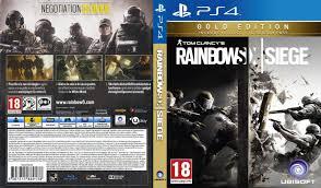 Buy Rainbow Six Siege Gold Tom Clancy S Rainbow Six Siege Gold Edition Dvd Cover 2015 Ps4