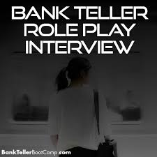 Bank Teller Course Online Bank Teller Role Play Interview Archives