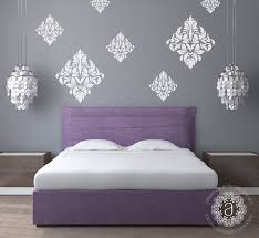 bedroom romantic bedroom for couple with damask bedding decor bedroom romantic bedroom for couple with damask bedding decor and crystalline chandelier attractive gray damask