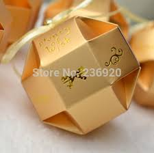 wedding gift boxes 100pcs lot gold unique candy box diy wedding gift box