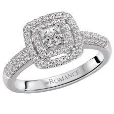 diamond double rings images 14kt white gold double halo princess cut diamond ring 118314 040c jpg