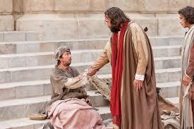 Bartholomew The Blind Man Peter And John Heal A Man Crippled Since Birth Peter And John
