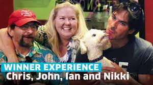 omaze winners chris u0026 john spent a day with ian somerhalder and