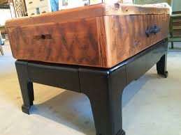 reclaimed wood game table coffee table reclaimed wood coffeeble with antique metal base
