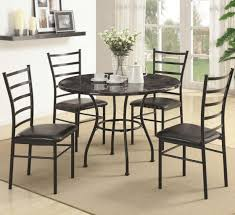 dining table with metal chairs iron dining room chairs wrought iron dining room table and chairs