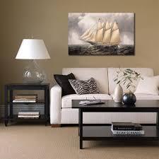 bureau decor nous voilier toile photos arts pour bureau décor moderne mur photos