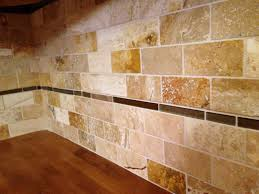 Travertine Subway Tile Backsplash Popular Travertine Kitchen - Travertine tile backsplash