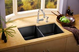 Kitchen Sink Design Enticing Kitchen Cabinet With Grey Granite Counter Top And Drop In