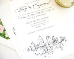 wedding invitations kansas city beauty and the beast engagement party invitations fairytale