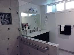 handicap bathroom design bathroom traditional with bench seating