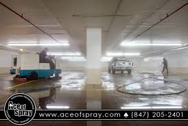 parking garage cleaning milwaukee ace of spray milwaukee wi cleaning a parking garage in st louis