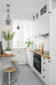 9 smart ways to make the most of a small galley kitchen galley