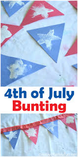 4th of july bunting kids craft patriotic crafts buntings and craft