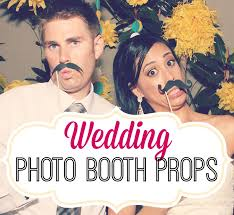Wedding Photo Booth Props Quirky Wedding Photobooth Props