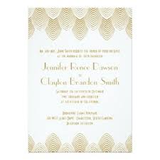 art deco wedding invitations dream wedding ideas