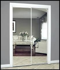 Closet Mirrored Doors Closet Door Mirror Cover Master Bedroom Re Do Update Mirrored