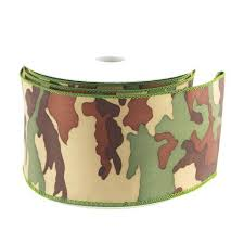camouflage ribbon polyester ribbon www partymill