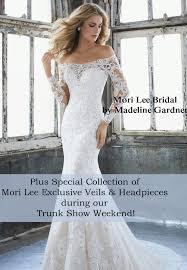 mori by madeline gardner mori bridal by madeline gardner trunk show sale bridal