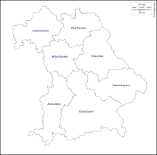 Bavaria Germany Map by Bavaria Free Map Free Blank Map Free Outline Map Free Base Map