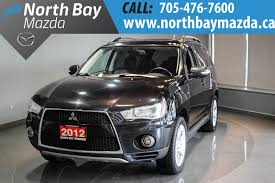 pre owned 2012 mitsubishi outlander xls navigation leather