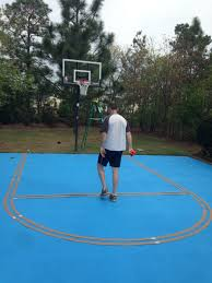 how to paint an basketball court diy ruth matrimonio immagini idee