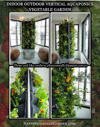 Indoor Vertical Garden Diy Indoor Outdoor Vertical Aquaponics Vegetable Garden Happy House