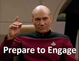 Picard Meme - captain picard engage webfor