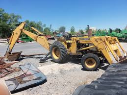 john deere jd300 loader 92 backhoe 46 gross hp 43 net hp from a