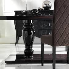 ebony table and chairs large ebony dining table set juliettes interiors