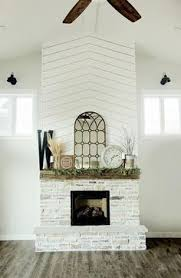 White Washed Stone Fireplace Life by How To Painting The Stone Fireplace White Big Stone Fireplaces