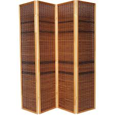 Freedom Room Divider Luxury Wood Panel Folding Room Divider Privacy Screen High