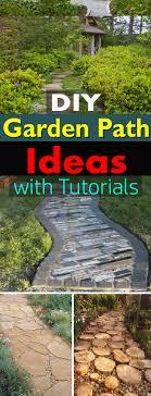 Walkway Garden Ideas 19 Diy Garden Path Ideas With Tutorials Balcony Garden Web