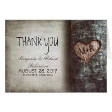 wedding thank you note cards zazzle