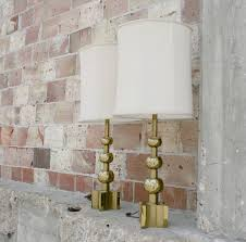 sold u2013 gold stiffel lamps 1970 u0027s