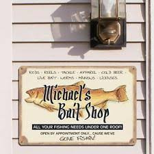 unbranded fishing hunting home décor plaques u0026 signs ebay