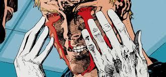 Bleeding Eyes Meme - review animal man 1 the 52 review